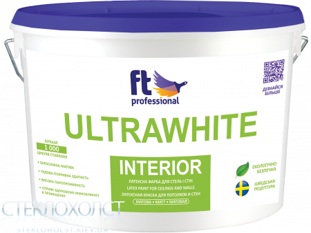 Краска FT Professional ULTRAWHITE INTERIOR (3 л)